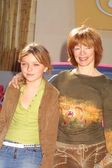 Frances Fisher and daughter Francesca Eastwood — Stock Photo