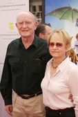 彼得 · 博伊尔和妻子 — 图库照片