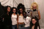 Models Backstage — Stock Photo