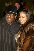 Cedrick the Entertainer and wife — Stock Photo