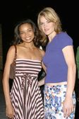 Michelle Eads and Missi Pyle — Stock Photo