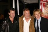 Paul Michael Glaser, David Soul and Owen Wilson — Stock Photo