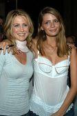 Kelly Rowan and Mischa Barton — Stock Photo