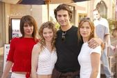 Vanessa Parise, Amanda Detmer, Johnathon Schaech and Brooke Langton — Stock Photo