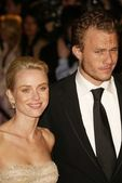 Naomi Watts and Heath Ledger — Stock Photo