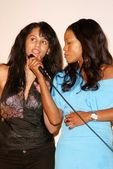 Persia White and Golden Brooks — Stock Photo