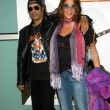 Slash and wife Perla — 图库照片 #17582183