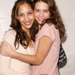 Christel Khalil and Lyndsy Fonseca — Stock Photo #17585659
