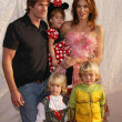 Постер, плакат: Cindy Crawford Rande Garber and family
