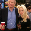 Stock Photo: Jon Voight and Skyler Shae