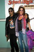 Slash and wife Perla — Stock Photo