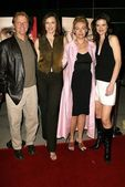 David Rasche, Brenda Strong, Misti Barnes and Missi Pyle — Stock Photo