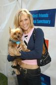 Heather Marie Marsden with Tinkerbell — Stock Photo