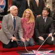 Stock Photo: Johnny Grant, Britney Spears and Leron Gubler at Spears induction into Hollywood Walk of Fame, Hollywood, C11-17-03