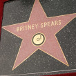 Britney Spears Star on Hollywood Walk of Fame at Spears induction into Hollywood Walk of Fame, Hollywood, C11-17-03 — Stock Photo #17629403