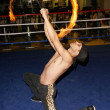 "Stock Photo: Fire Dancer at launch party for ""Bodies In Motion"""