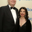 Sir Howard Stringer and Michele Anthony - Lizenzfreies Foto