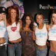 Постер, плакат: Tiffany Haugen Angie Everhart Amy Weber Jennifer Birmingham and Hayden Kristianson