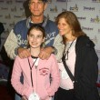 Stock Photo: Eric Roberts, wife Elizand daughter Emma