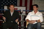 Mark Burnett and Sylvester Stallone — Stock Photo