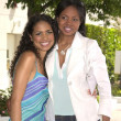Jennifer Freeman and mother Terissa — Stock Photo
