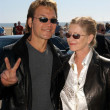 Постер, плакат: Patrick Swayze and wife Lisa Niemi