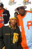 Lil' Romeo and Master P — ストック写真