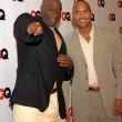 The Rock and Michael Clarke Duncan — Foto Stock
