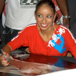 Mya at an in-store appearance — Stock Photo