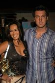 Tia Carrere and guest — Stock Photo