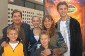 Beau Bridges and family — Stock Photo