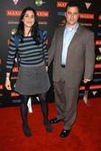 Sarah silverman und jimmy kimmel — Stockfoto