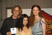 Andy dick, lili haydn e khrystyne haje — Foto Stock