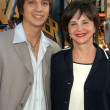 Постер, плакат: Cindy Williams and son Zack