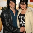 Coyote Shivers and wife Pauley Perrette — Stock Photo #17720895