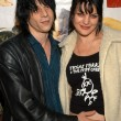 Постер, плакат: Coyote Shivers and wife Pauley Perrette