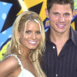 Jessica Simpson and Nick Lachey — 图库照片