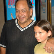 Cheech Marin and daughter Jasmine — Stockfoto