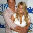 Nick Lachey and Jessica Simpson — Stockfoto