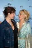 Carrie-Anne Moss and Maria Bello — Stock Photo