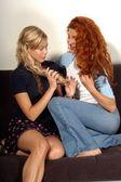 Jennifer sky och jenna mattison — Stockfoto