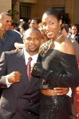 Roy Jones Jr. and Lisa Leslie — Stock Photo