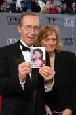 Bernie Kopel and wife — Stock Photo