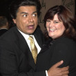 George Lopez and wife - Stock Photo