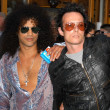 Stock Photo: Slash and Scott Weiland