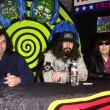 Pete Yorn, Rob Zombie and Johnny Ramone - 图库照片