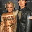 Paris Hilton and Jason Shaw - 图库照片