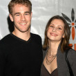 James Van Der Beek and Heather McComb - Stock Photo