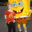 Stock Photo: Kelly Osbourne and Sponge Bob