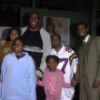 Magic Johnson and family - Zdjęcie stockowe